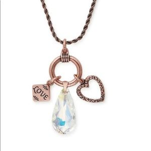 Love Trio Charm necklace